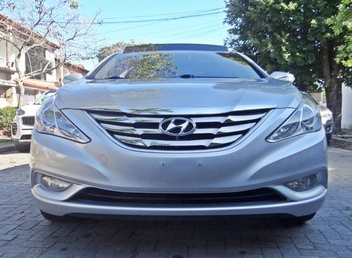 hyundai sonata 2.4 16v aut. 4p com teto solar, prata 2011/12