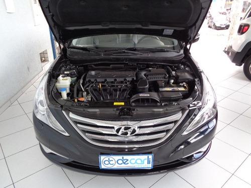 hyundai sonata 2.4 gls automatico (gasolina) preto - 2013