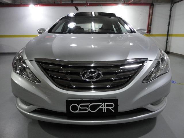 Superb Hyundai Sonata Gls 2.4 16v Automático 2011 C Teto Solar