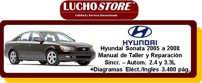 hyundai sonata manual taller reparacion diagramas 05 08 ecu bs 12 rh articulo mercadolibre com ve