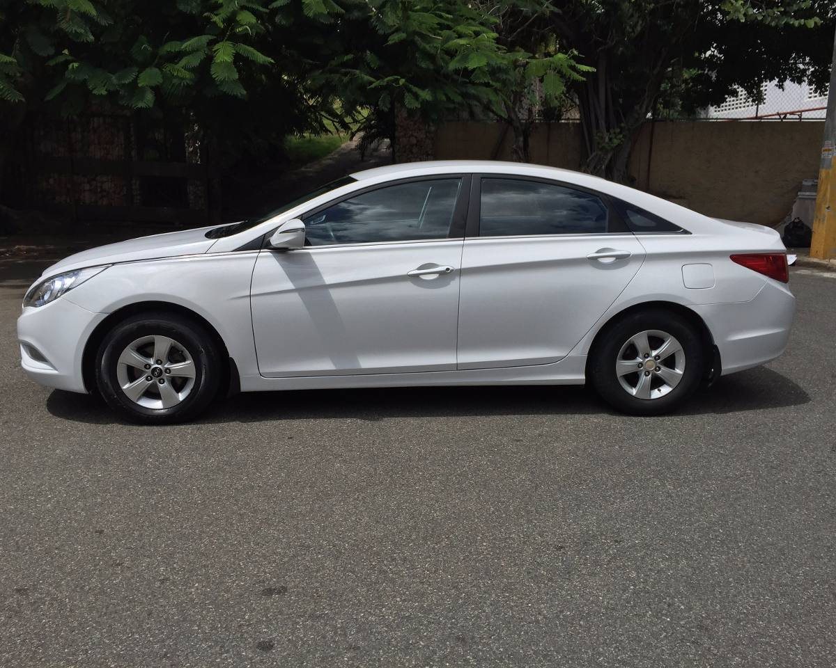 Hyundai Sonata Y Blanco Rec Imp D Nq Np Mrd F