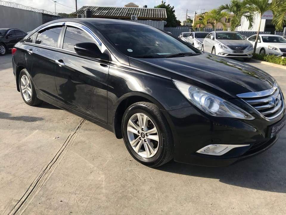Hyundai Sonata Y Negro Original Con Mil De Inicial D Nq Np Mrd F