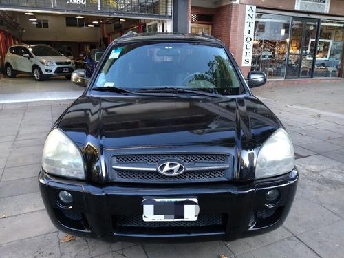 hyundai tucson 2.0 4x4 2008 negra