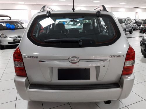 hyundai tucson 2.0 gls aut. 2008 ar digital, bancos de couro