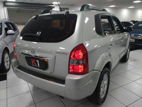 hyundai tucson 2.0 gls aut. prata 2012 extremamente nova