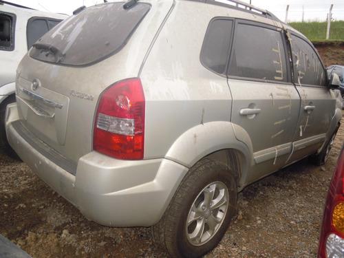 hyundai tucson 2008 sucata peças lataria motor cambio