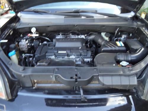 hyundai tucson gl automática  08/09 - kit gás - bnc de couro