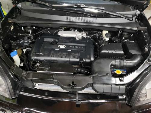 hyundai tucson gls 2007 motor 2.0 preto