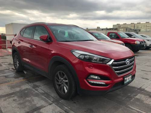 hyundai tucson limited 2016 rojo aut.