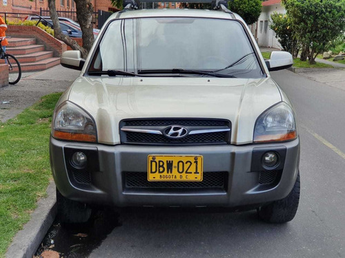 hyundai tucson modelo 2009 mecánica gasolina 4x2 - 2 airbags