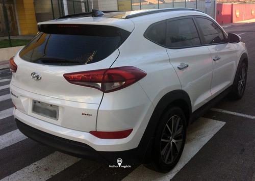 hyundai tucson turbo 1.6 aut. 2018 branca