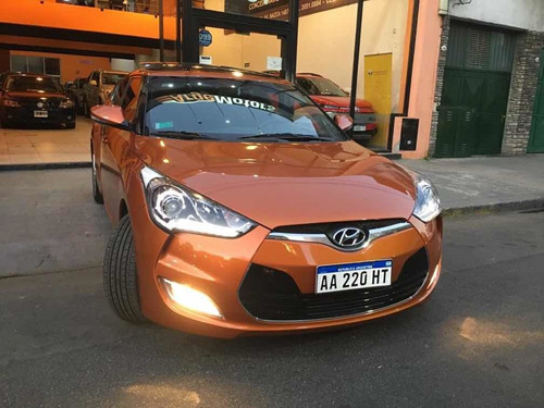 hyundai veloster 1.6 130cv at 2016 ¡8.000km unico argemotors