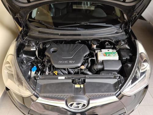 hyundai veloster 1.6 16v 2p preto com motor zero