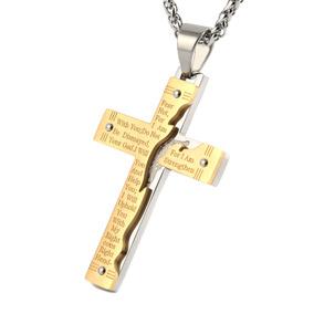 d778182660c5 Crucifijo De Acero Inoxidable en Mercado Libre Perú