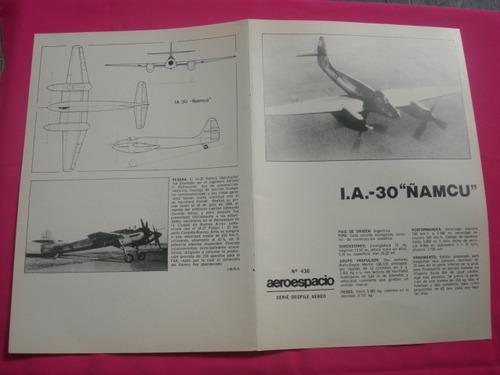 i. a. 30 ñamcú - lamina de la revista aeroespacio