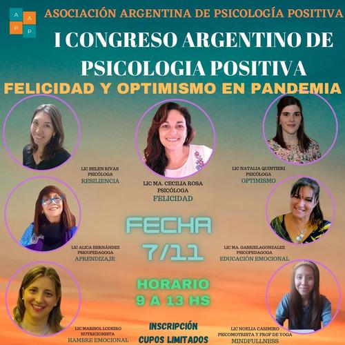 i congreso de psicologia positiva