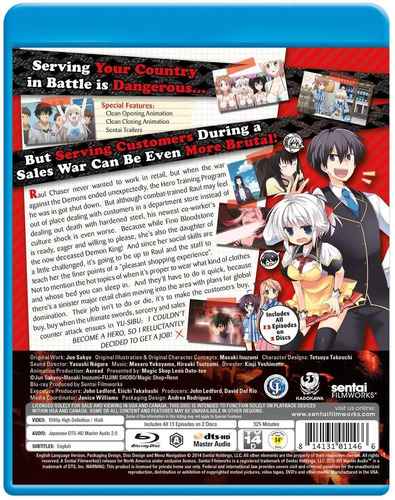 i couldn ' t become a hero so i reluctantly decided blu-ray