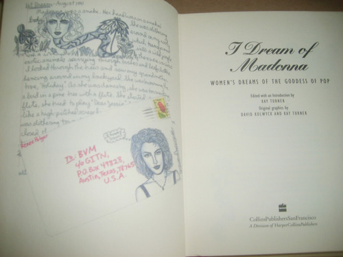 i dream of madonna women's dreams of the goddess of pop 1993