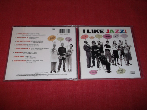 i like jazz - marsalis connick defrancesco cd imp 1991 mdisk