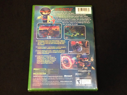 i ninja xbox clasico mega rare