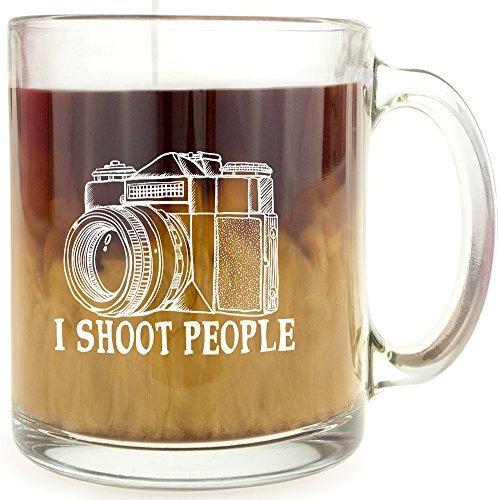 Taza de Caf/é de Cer/ámica C/ámara Fot/ógrafo I Shoot People