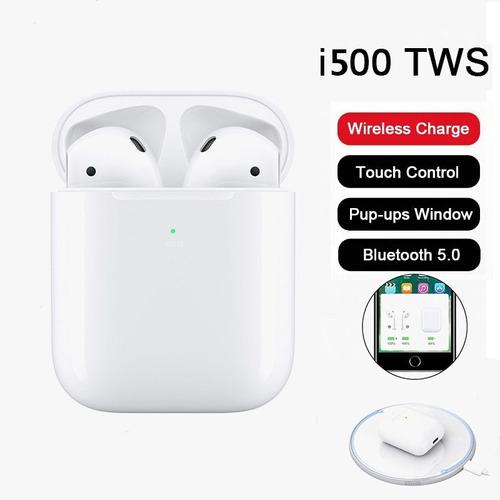 i10 tws audifonos airpods recargables bluetooth sonido 1:1