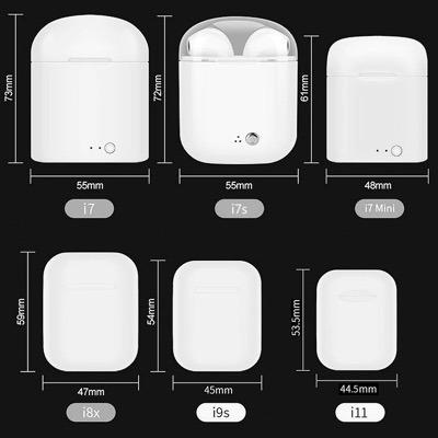 i11 tws airpods bluetooth conexion automat iphone envio grat
