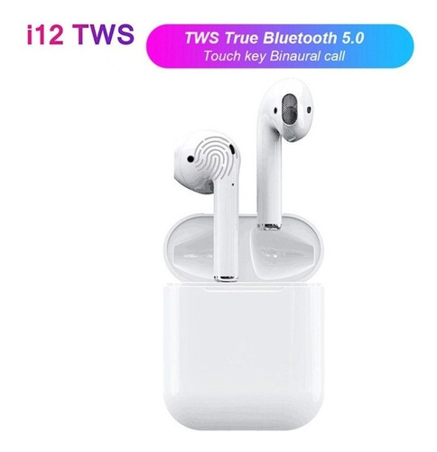 i12 tws airpods audifonos inalambricos recargables bluetooth