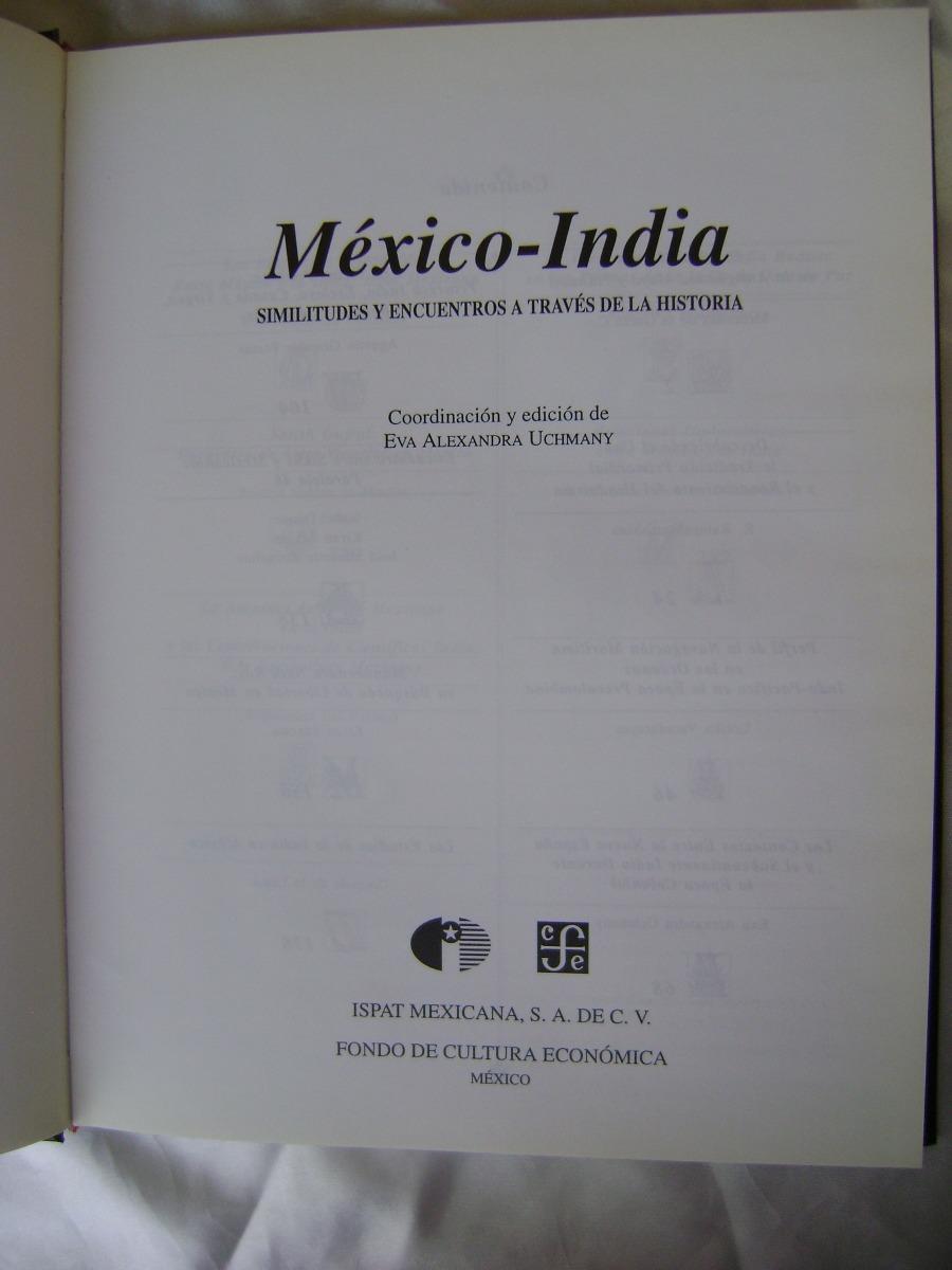 I7 Mexico-india, Similitudes Historia. Eva Uchmany. - $ 209.00 en ...