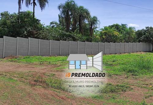 i9 casa e muro pré moldado