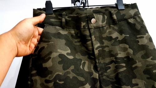 i9019 regalado pantalon cargo top top camuflado militar