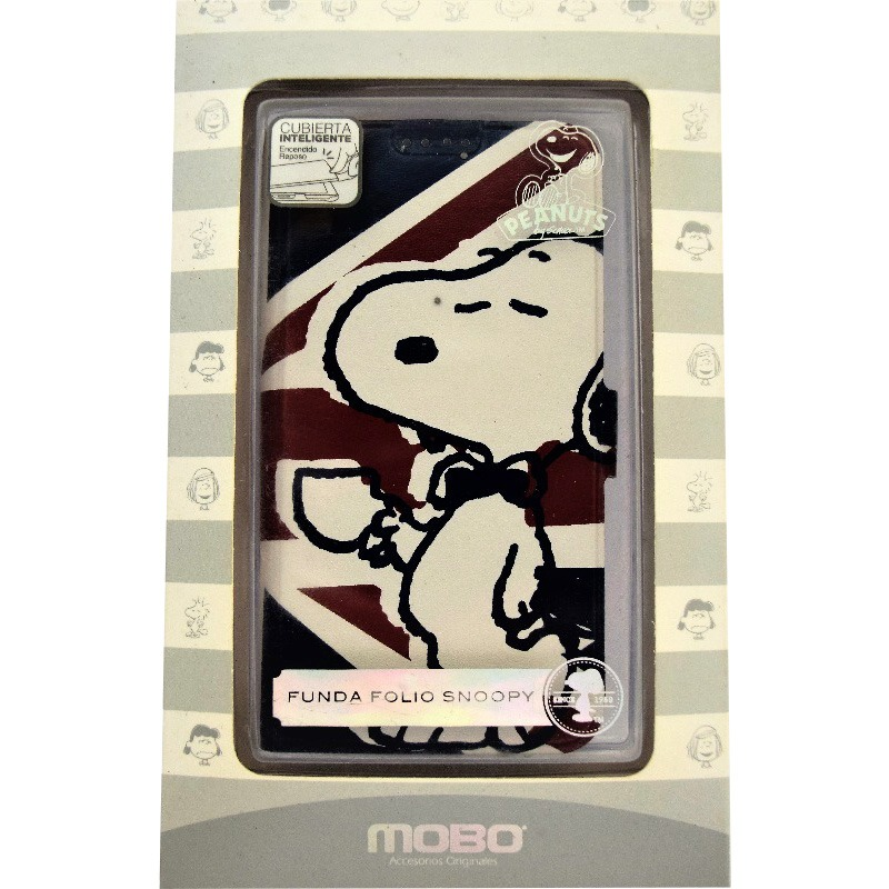 c3c871d36e4 I9190 S4 Mini Funda Folio Tipo Cartera Snoopy Mobo - $ 110.00 en ...