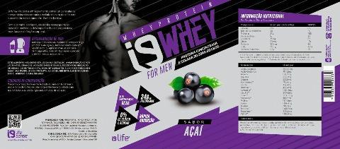 i9life  whey protein proteínas isoladas soro leite i9whey