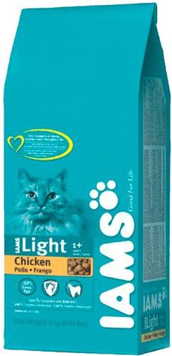iams light gato adulto x 3 kg   solo envios.