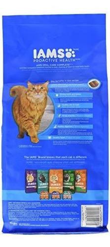 iams salud proactiva adulto gato oral cuidado pollo seco gat
