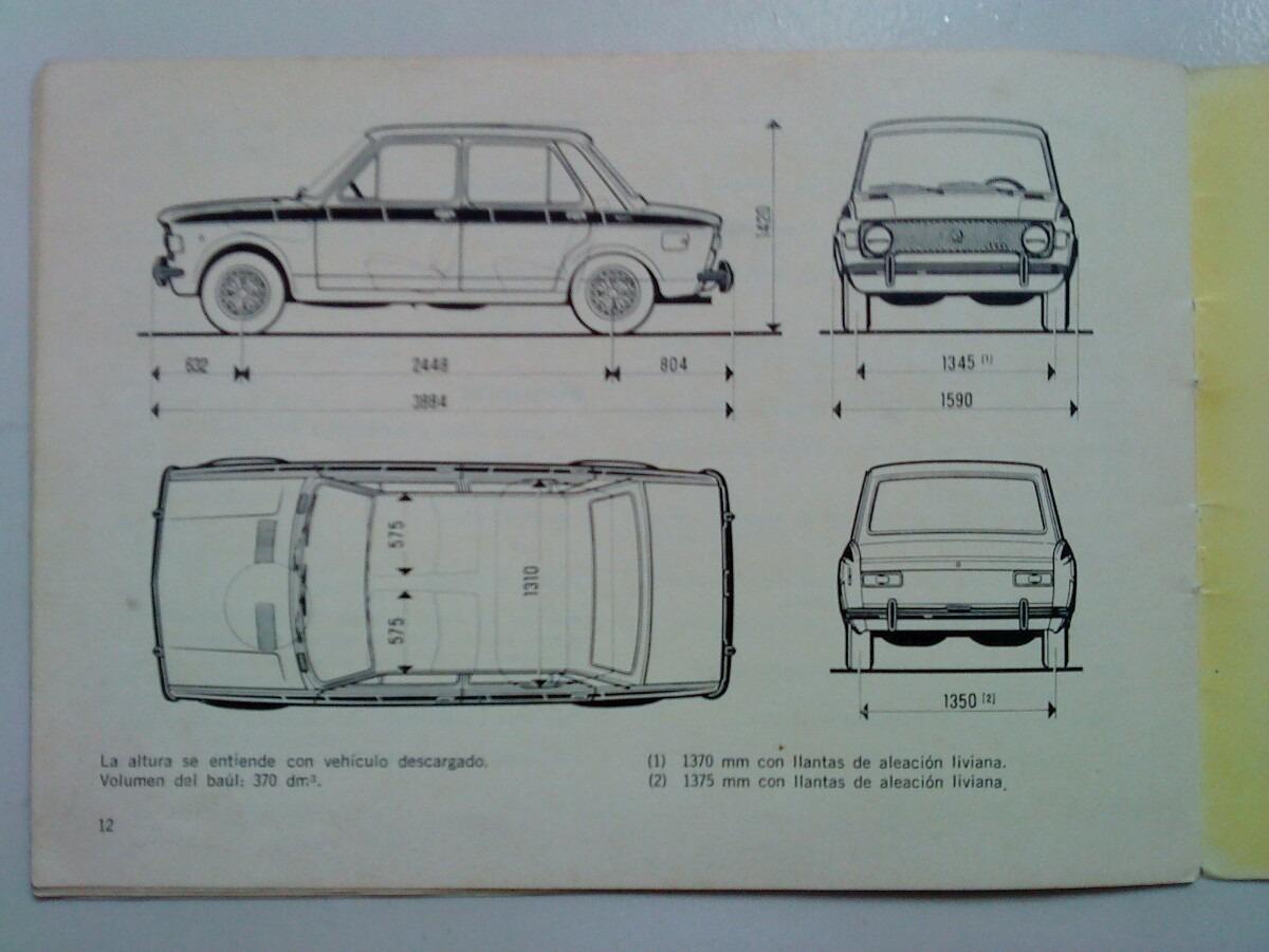 iava suplemento manual original de fiat 128 tv 1300 de 1974 rh articulo mercadolibre com ar fiat 128 workshop manual.pdf fiat 128 manual
