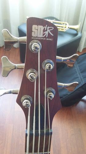 ibanez soundgear sr505 bajo 5 cuerdas