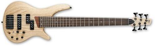 ibanez sr656 guitarra bajo eléctrica de 6 cuerdas plano nat