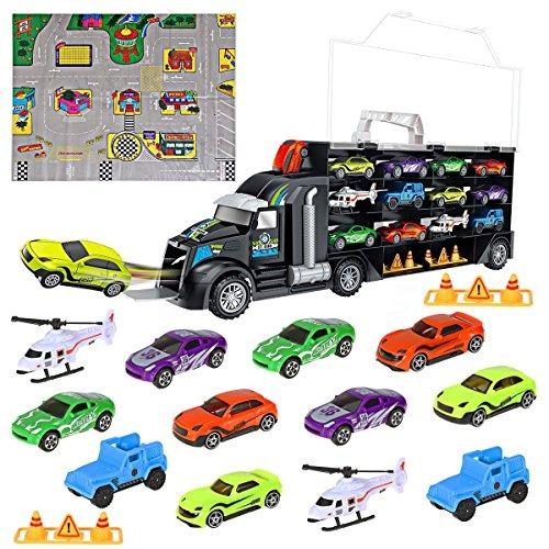Transporte Coche Portador Juguetes Juego De Ibasetoy Camión b6gIfYy7v