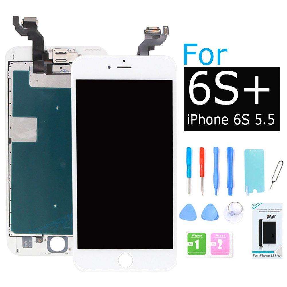 e2214ee8f4b ibaye reemplazo pantalla compatible iphone 6s más lcd blanc. Cargando zoom.
