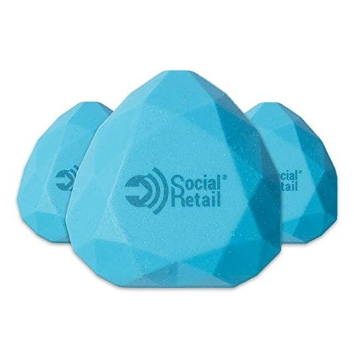ibeacon i8 water-resistant silicone bluetooth le 4.0 program