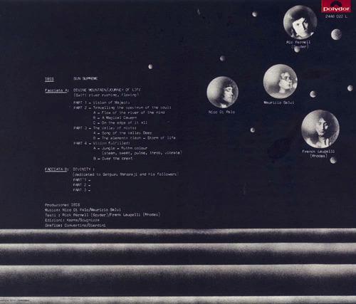 ibis - sun supreme - cd nuevo - progresivo italiano