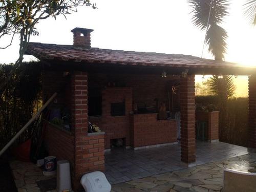 ibiuna - chácara/moradia/piscina/churrasqueira ref 04389