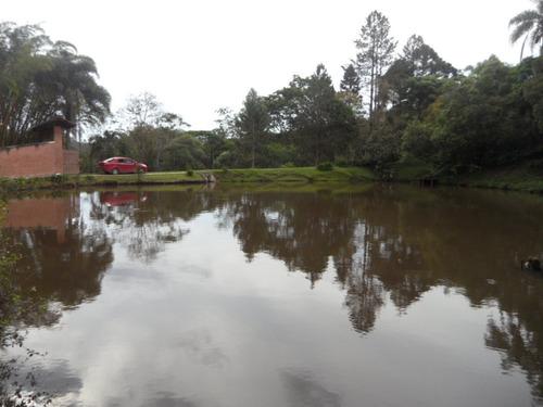ibiúna sítio c/96.000m2 lago c/nascente entupido de peixes