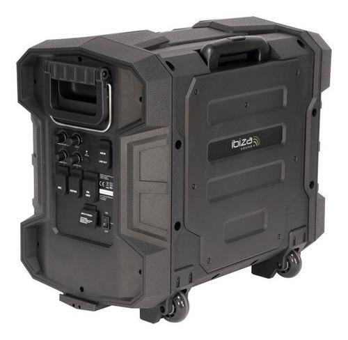 ibiza sound bocina portatil baterias de intemperie 300w nfc