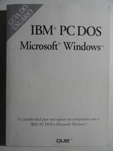 ibm pc dos - microsoft windows
