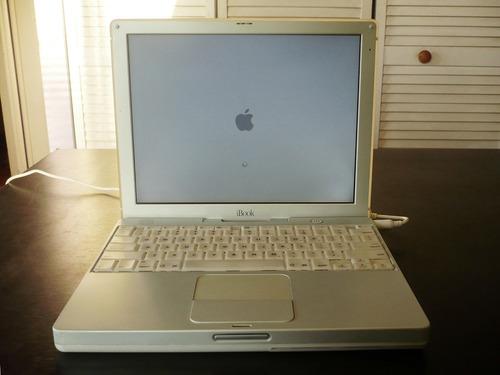 ibook g3 600mhz, wi-fi, batería 3hrs, excelente estado