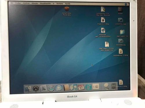 ibook g4 funcionando