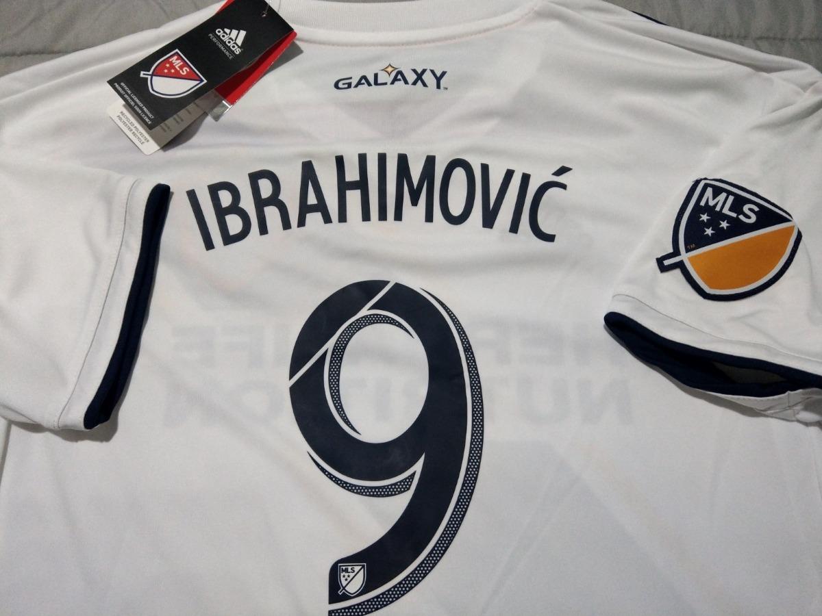 buy popular f6e13 543ec Ibrahimovic Home Galaxy Jersey 2018