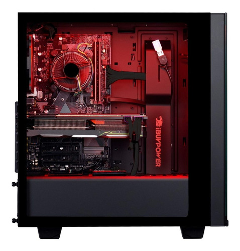 ibuypower elite gaming pc desktop amd ryzen 5 2600 3.4ghz, n